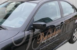 Barockoco Fahrzeugbeschriftung black