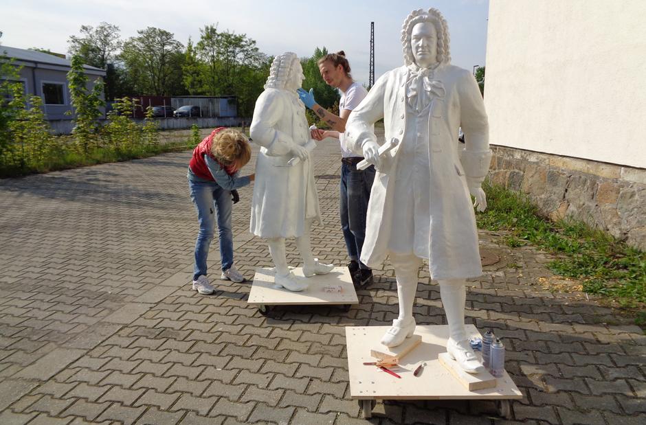 Bachfiguren in Kleinserie