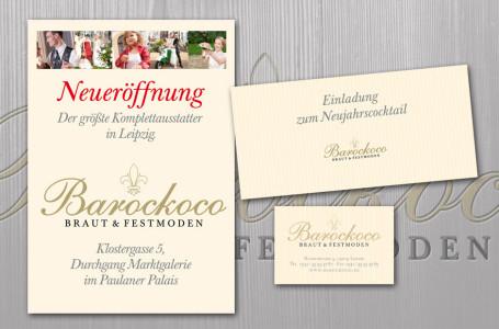 Barockoco Visitenkarten Flyer Plakat Werbeagentur