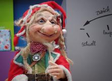 Troll Gudmundur aus der Weihnachtsdekoration Allee-Center Leipzig