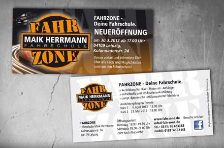 Grafikdesign Fahrzone-Flyer-940x619