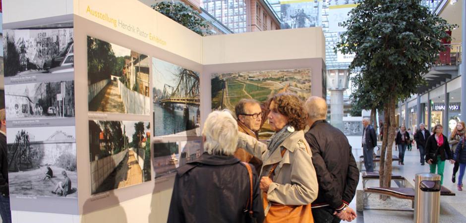 Ausstellung Fall Berliner Mauer