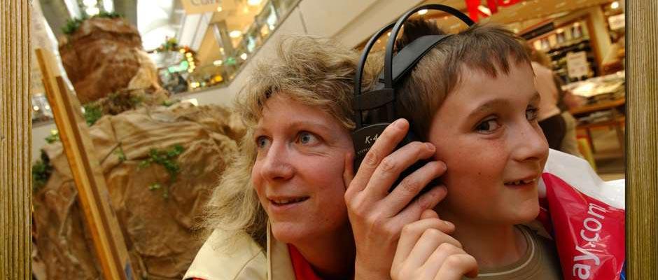 Ausstellung - Lewis und Clark -  Hörstation