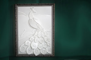 Pfau All over white - Look 3D