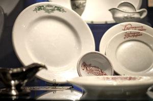 Geschirr aus Leipziger Restaurants
