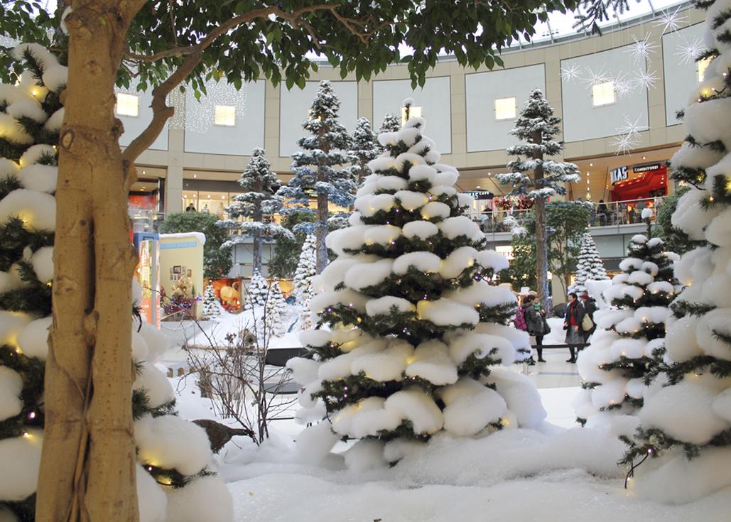 am nordpol ist was los weihnachten im alleecenter leipzig. Black Bedroom Furniture Sets. Home Design Ideas